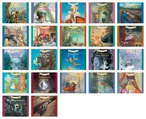 NEW Classic Starts 22 CD Set Little Women Black Beauty Anne of Green Gables