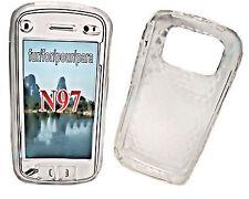 Silikon TPU Handy Cover Case Hülle Schale Schutz für Nokia N97 in Transparent