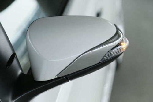 MIT TOYOTA CAMRY AURION 2012-on PRIUS-C outside door mirror cover trim-chrome