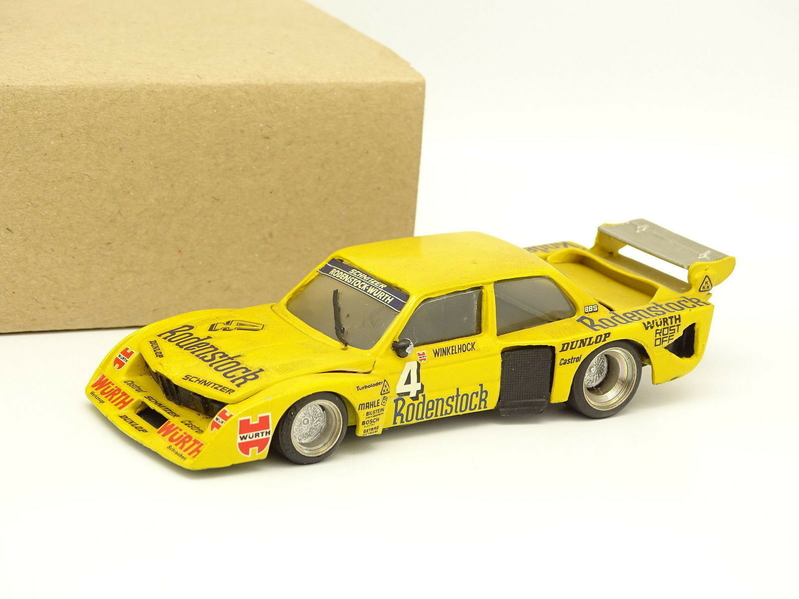 AMR Kit Assembled Metal 1 43 43 43 - BMW 320 Schnitzer Turbo Gr 5 Drm 1979 N° 4 b1d4bd