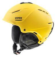 Uvex P1us Helmet Yellow Ski Snowboard Winter Sports 16/17