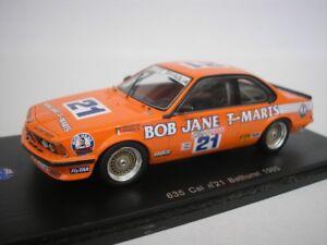 Bmw 635 Csi #21 Bathurst 1985 J. Cecotto 1/43 Spark As016 Neuf