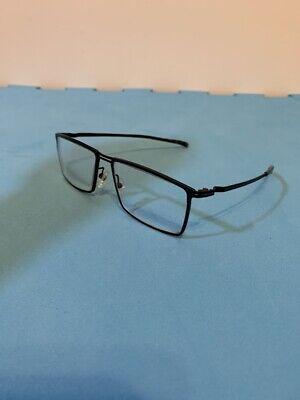 PEACE Optical Rx Full Rim Men Women Rectangle Metal Frame Clear Lens Eye Glasses