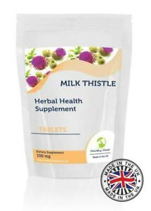 Milk-Thistle-100mg-Herbal-500-Tablets-Pills-Supplements