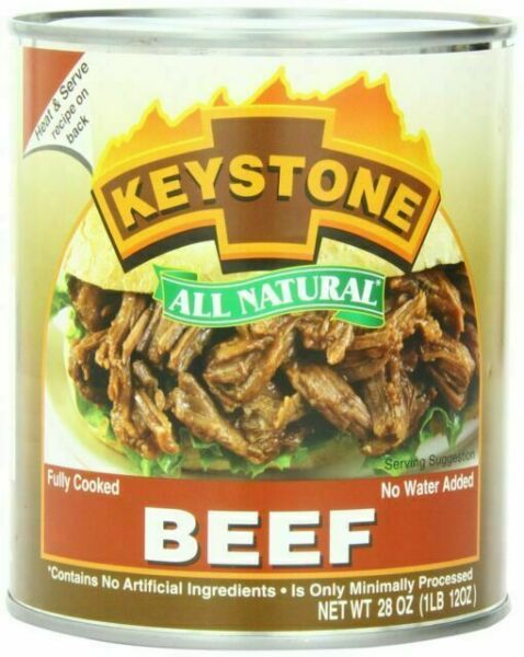 Keystone All Natural Canned Beef 28 Oz For Sale Online Ebay