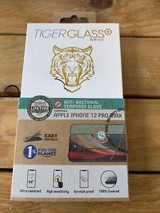 Verre Trempé Tigerglass Pour Apple Iphone 12 Pro Max