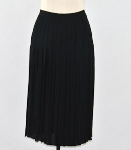 PER-SE-BLACK-DRESSY-PLEATED-ACCORDIAN-SKIRT-sizes-4-6-NEW-495