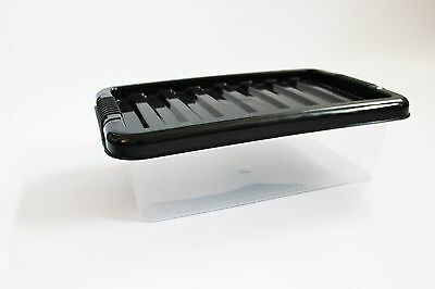 5 x Caja de Plástico de 6 L-Caja Pequeña-Zapatos-Lápices-Accesorios - Barato
