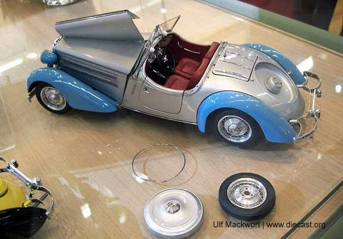 1935 Audi Front 225 Roadster Diecast Model