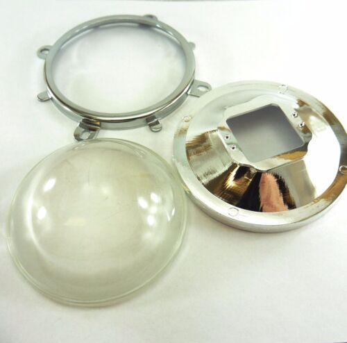Soporte Fijo Reflector Colimador Diodo LED 100W 2x conjunto de Hágalo usted mismo 77mm Lente
