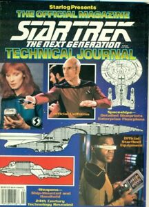 Star-Trek-Next-Generation-Technical-Journal-magazine-1992-Paramount-Starlog