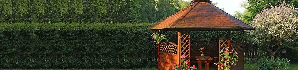 Shop event Save from 20% on Gazebos Find your summer shade with great savings