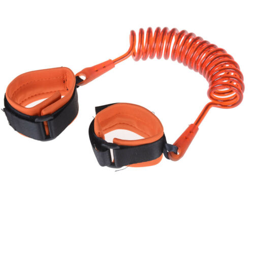 Anti-Lost Spring Wristband safety Harness Rope Belt Elastic Wire For Kids Baby^