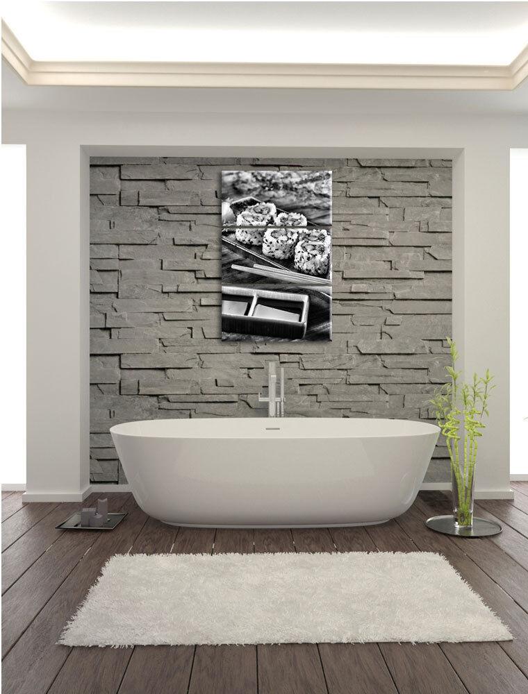Délicat Inside Out Sushi Roulettes 3-Teiler Image Toile de Toile Image Décoration Murale d35736