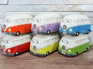 Camper-Van-Money-Box-Bank-6-colours-Red-Green-Blue-Yellow-Purple-Orange