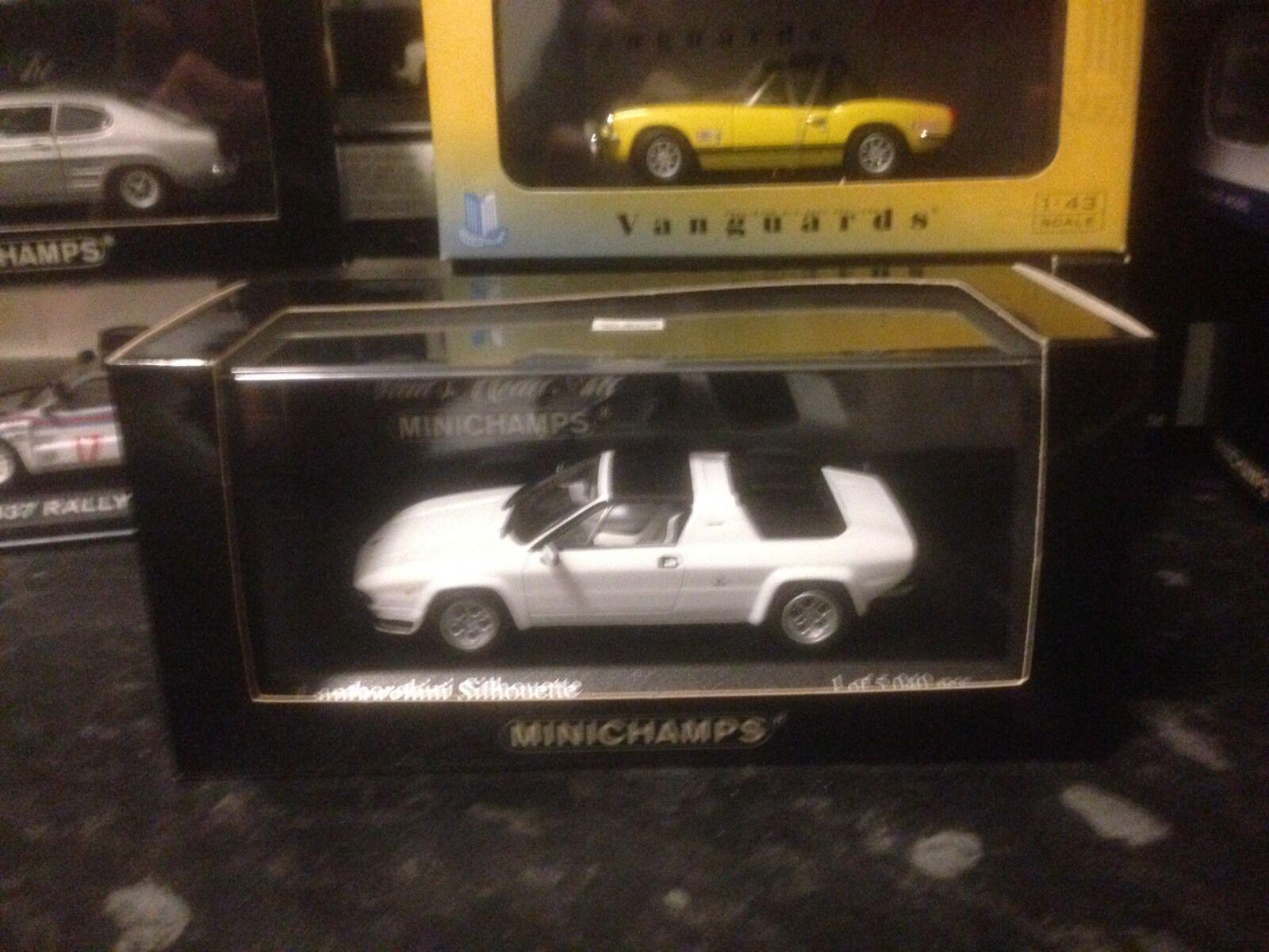 Minichamps Lamborghini Silhouette 1976 1 43 MIB Ltd Ed White