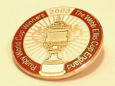 England Rugby Winners Webb Ellis Cup 2003 Collector pin badge in Mint condition