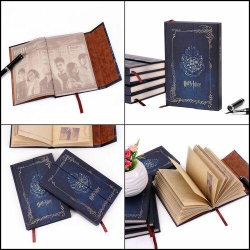 Harry Potter Vintage Notizbuch Notiz Tagebuch Planer Buch Memobuch Geschenk