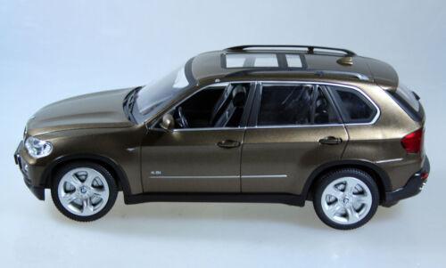 RC BMW X5, Auto, Jeep, 1:18, 25 cm, metallic Braun, Lizenz Modell