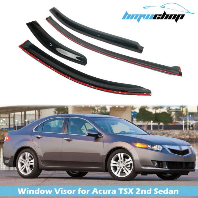 For 09-14 Acura TSX MK2 CU2 Saloon Window Visor Rain Guard