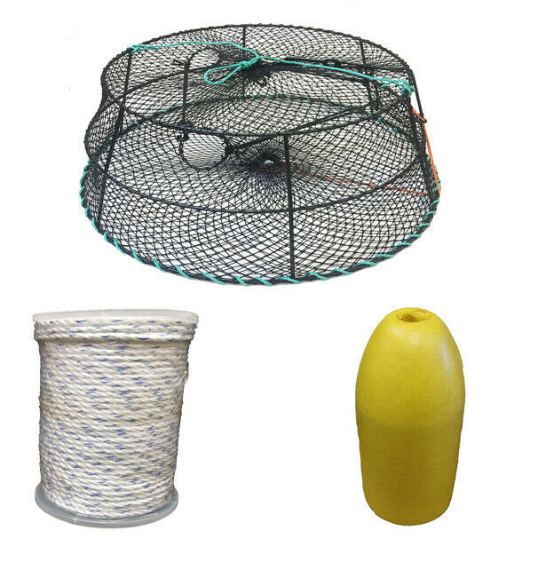 KUFA Sports Vinyl  Coated Tower Style Prawn Trap & Accessories (CT78+FYM400)  credit guarantee