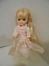 Vintage 1985 My Little Pony MEGAN DOLL dress gown Hasbro blonde
