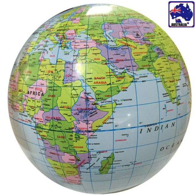 Inflatable inflate earth globe tellurion world map ball geography inflatable inflate earth globe tellurion world map ball geography gitoy 4621 gumiabroncs Images