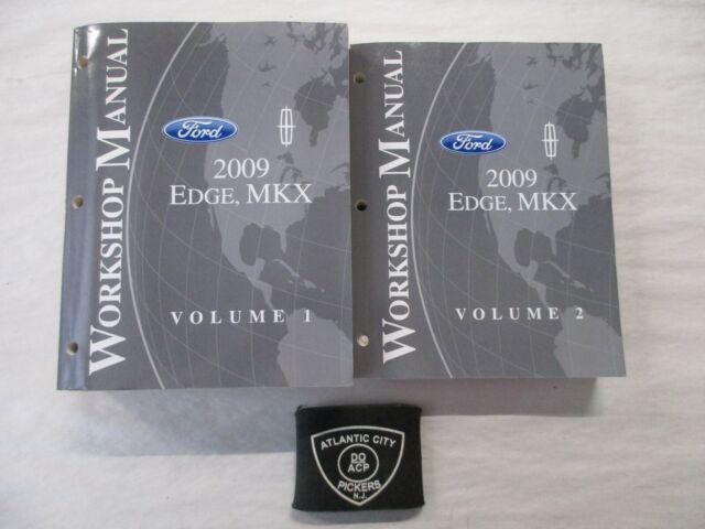 2009 Ford Edge Lincoln Mkx Service Shop Repair Manuals