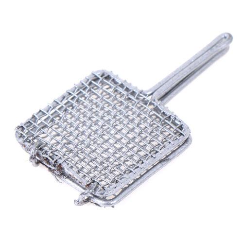 1:12 Dollhouse Miniature Metal Silver Barbecue Clip Kitchen  wa