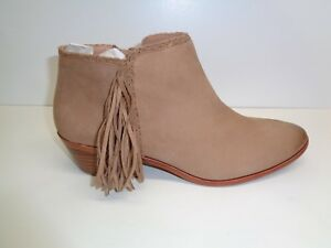 b5394d9ac5ef Sam Edelman Size 9.5 M PAIGE Honey Brown Leather Ankle Boots New ...