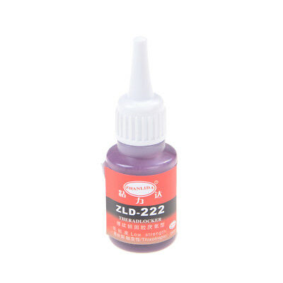 222 25ML Anaerobic Adhesive Metal Screw Lock Glue Thread Seal up Q+