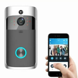 1080P Wireless Smart WIFI Security Doorbell IR Video Door ...