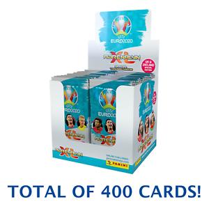 EURO 2020 SOCCER PANINI ADRENALYN CARDS  (50 PACKS PER BOX) (8 CARDS PER PACK)