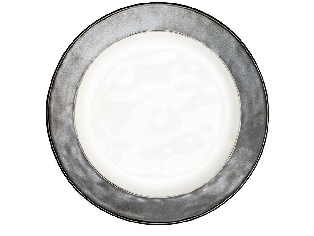 Juliska Emerson Weiß Pewter Dinner Plate - - - Set of 4 016521