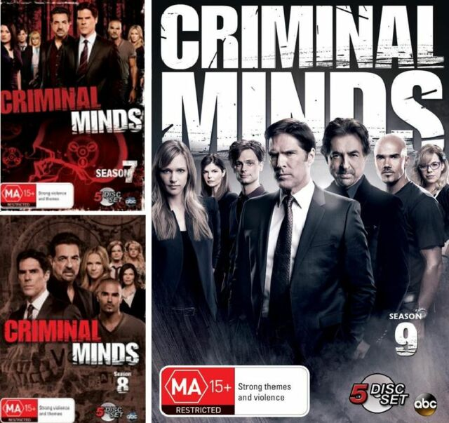 Criminal Minds Season 7 8 9 : NEW DVD