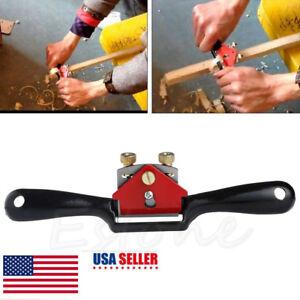Metal-Woodworking-Blade-Spoke-Shave-Manual-Planer-Plane-Deburring-Hand-Tools-9-034