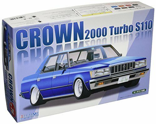 Fujimi ID26 Toyota Crown 2000 Turbo S110 Plastic Model Kit from Japan NEW
