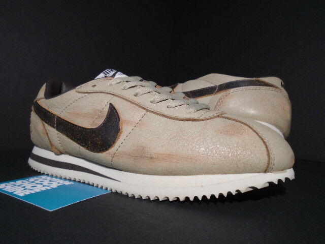 2004 NIKE CORTEZ LEATHER DELUXE PLUS GcourirGE 308351-221 PACK SAND BAROQUE BROWN 308351-221 GcourirGE 7 cceb52