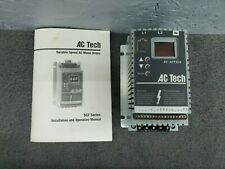 Ac Tech Sc Series Variable Frequency Drive Model Sf103s 025 Hp 1ph To 3ph