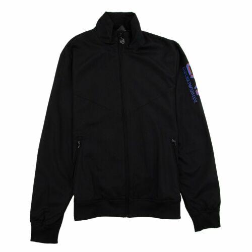 EA7 Triple Logo Woven Tracksuit Black