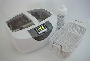 Ultrasonic Cleaner P4820 Heater 110V + Brass Cleaner +Plastic Basket