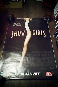 SHOWGIRLS-4x6-ft-Bus-Shelter-Vintage-Movie-Poster-Original-1996