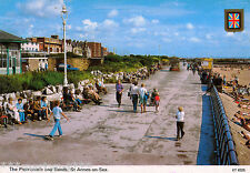 Postcard -  THE PROMENADE AND SANDS, ST. ANNE'S-ON-SEA. Unused.