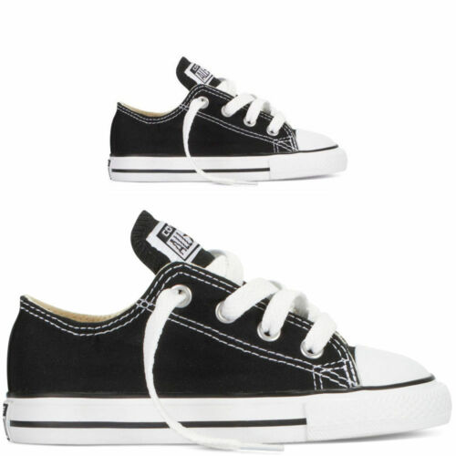 Kid Boy Unisex Low Top Flat Classic Shoes Casual Canvas Trainers Unisex Sneakers