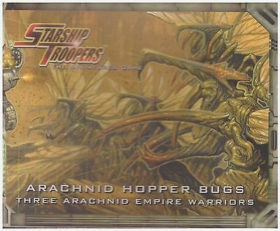 Starship Troopers: Arachnid Hopper Bugs: Miniature Wargame Models Factory Sealed