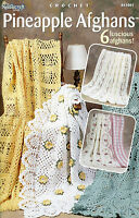 Pineapple Afghans Lacy Pineapple Crochet Patterns