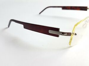 4899053825 Image is loading Lindberg-Spirit-Titanium-Eyeglasses-Rimless-Glasses -Hand-Made-