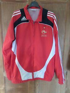 Veste équipe de FRANCE 2006 ADIDAS vintage jacket football FFF giacca 180 L D6