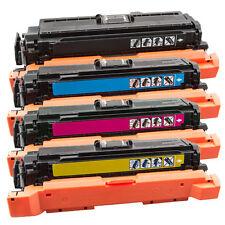 4 TONER CARTUCCE proxxl per HP LaserJet Enterprise 500 color m551n ce400x-03a