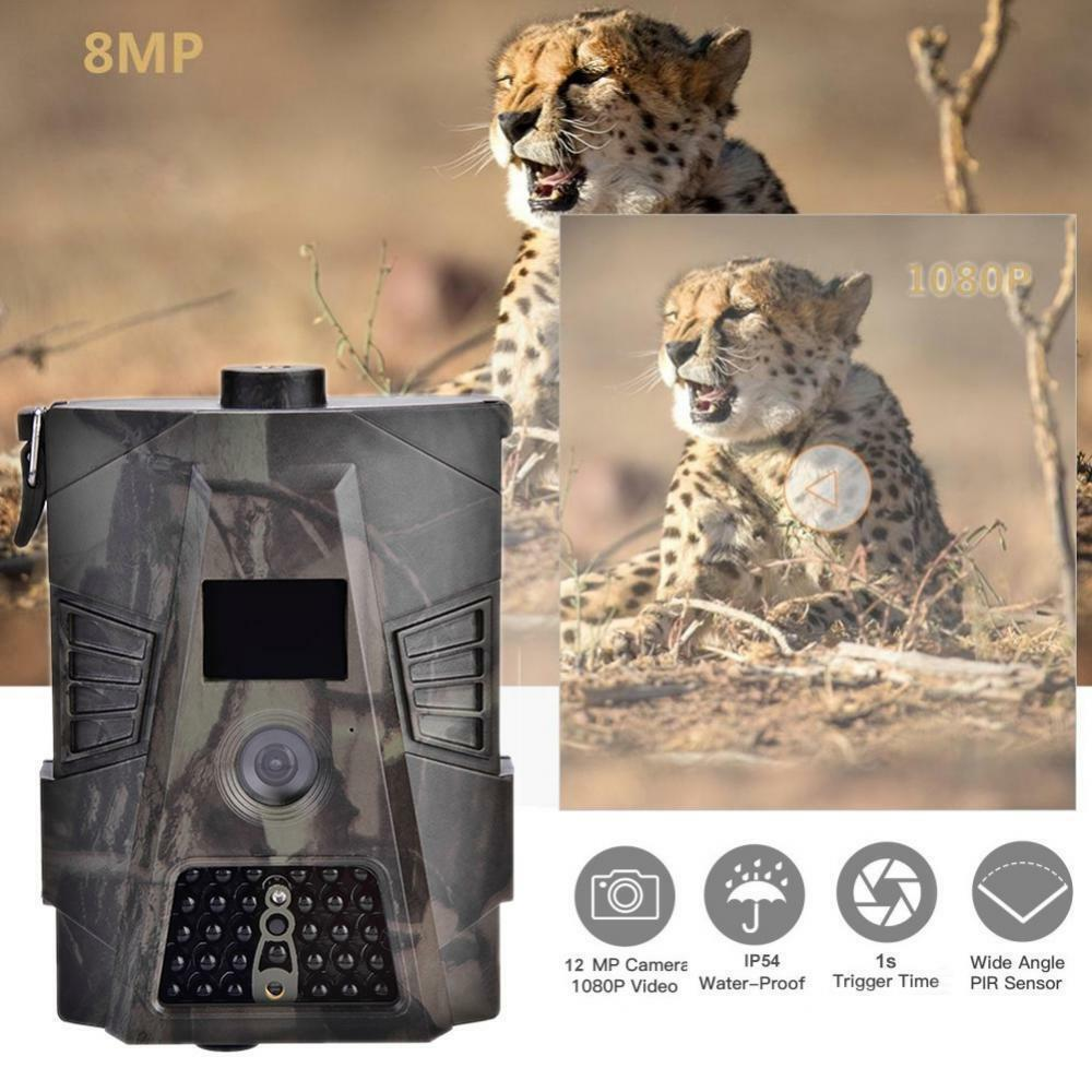 18MP Infrared Night Vision Camera GPS Wildlife Hunting Trail Cameras Camcorder